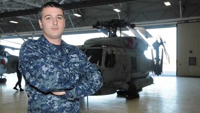 Mountain Home native Thomas Moranz is serving as an Electrician's Mate in the U.S. Navy, working on the news and most technologically helicopter's in the fleet.