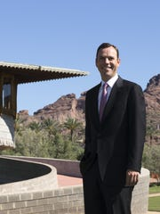 """Zach Rawling, president of the David and Gladys Wright House Foundation, envisions a house museum that's """"part of the fabric of cultural life in the city."""""""