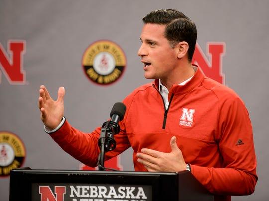 Nebraska football's new defensive coordinator, Bob