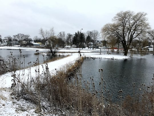 The area around Brick Pond in Elmira could be its own