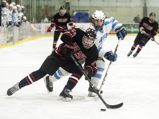 Rutland vs. South Burlington Boys hockey 12/27/14