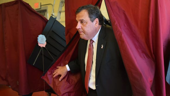 Governor Christie is hoping for five votes in his favor