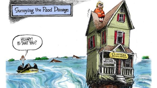 Cartoon for Aug. 28, 2016.