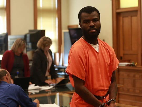 Lamar Wilson is pictured during his case management