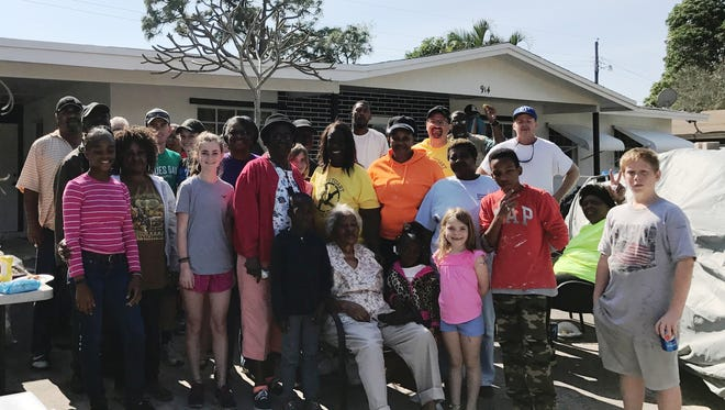 The last 'Love thy Neighborhood' event brought together an enthusiastic group of volunteers.