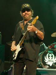 Hank Williams Jr., seen here performing ion August