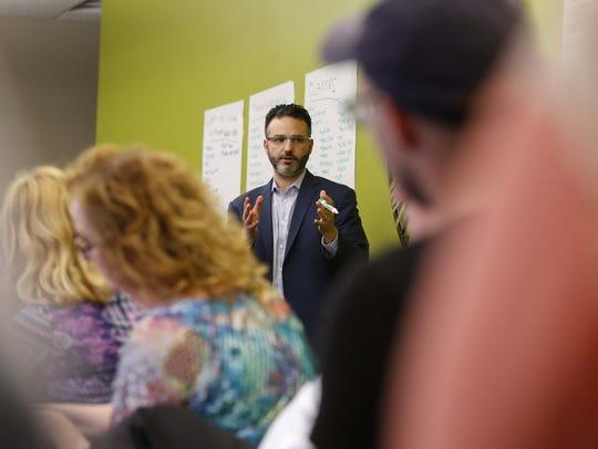 Zach Mannheimer of Iowa Business Growth works with