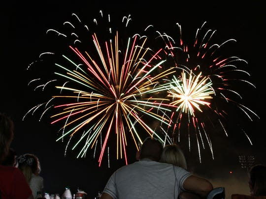 Fireworks events are taking place throughout the Ozarks this weekend.