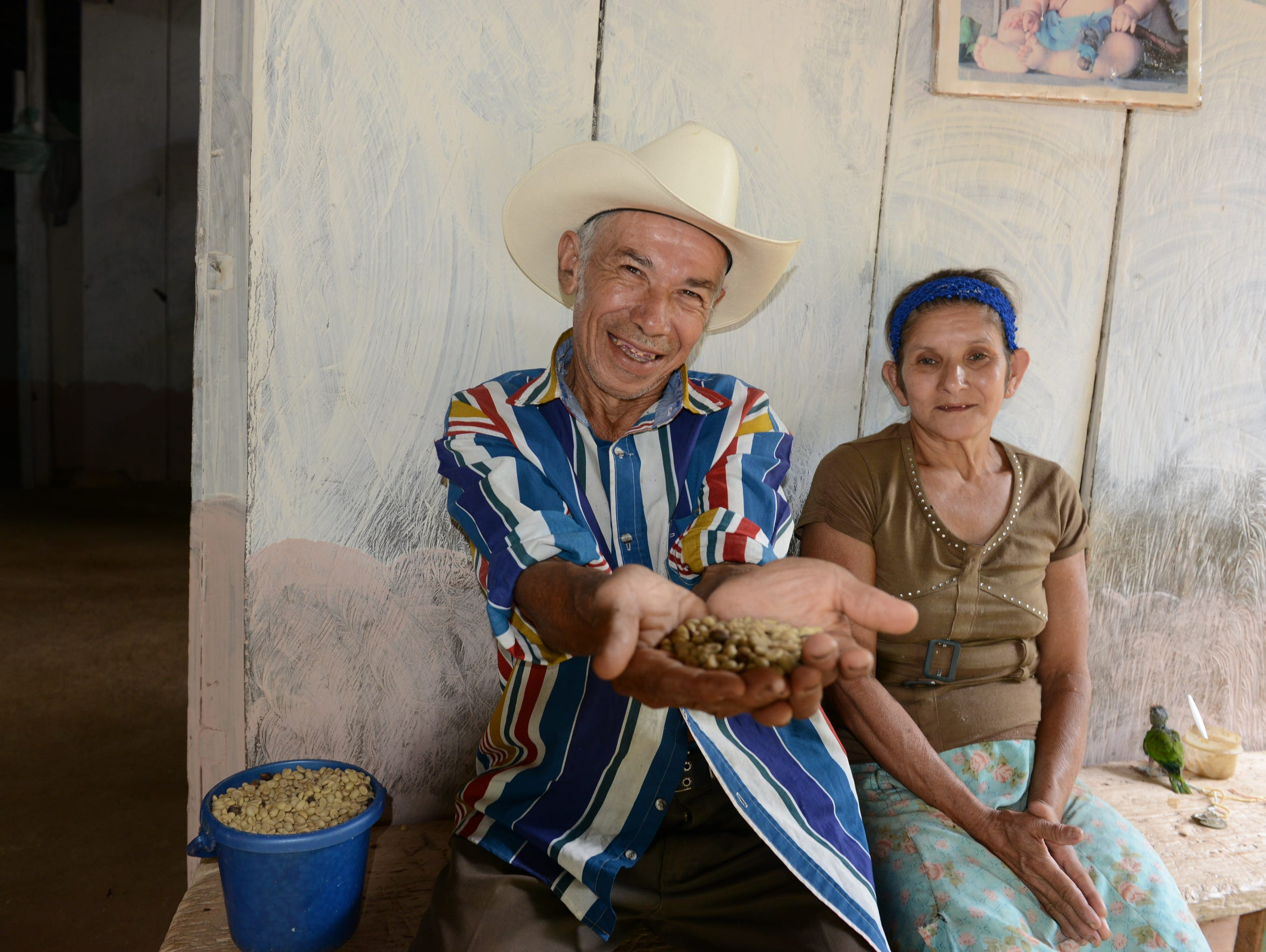 Villagers in Las Minitas grow most of what they eat