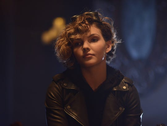 """Selina Kyle, played by Camren Bicondova, in the """"Damned"""