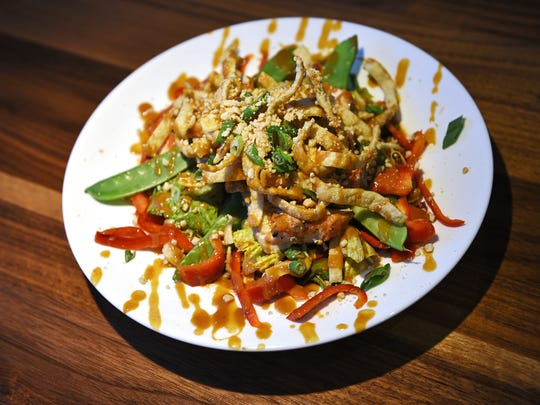 Hy-Vee Market Grille's Asian chicken salad at the restaurant