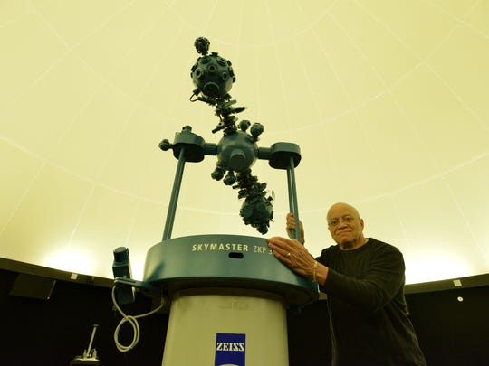 Gary Swangin, director of the Panther Academy Planetarium