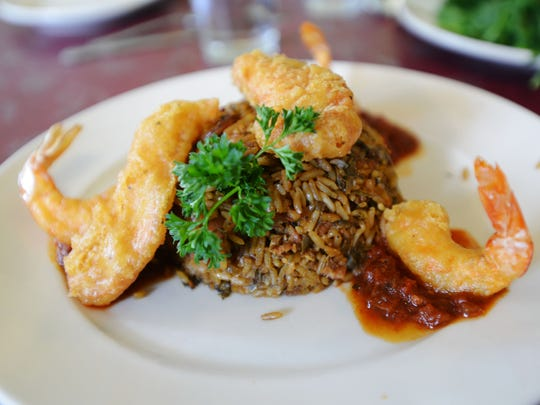 Jambalaya is the Wednesday special at Lucile's Creole Cafe.