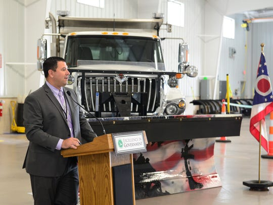 Patrick McColley, District 2 deputy director for ODOT,