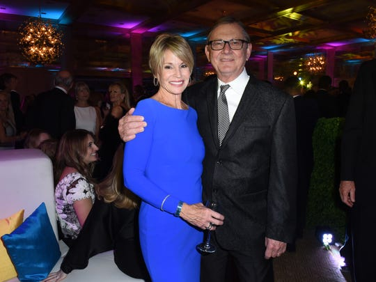 Aubrey Serfling, President and CEO of Eisenhower Health, with lovely wife Lori.