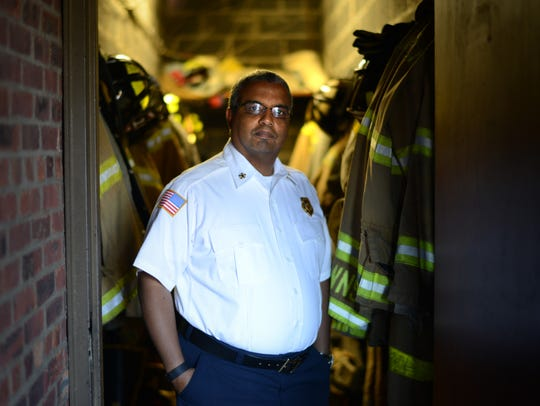 Retired Teaneck Fire Chief Anthony Verley in the Teaneck