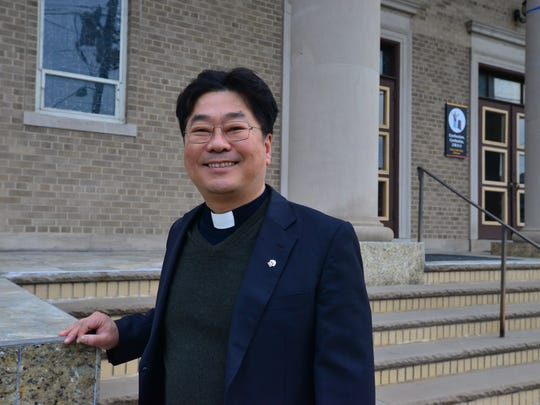 The Rev. Minhyun Cho of St. Michael's Church in Palisades Park