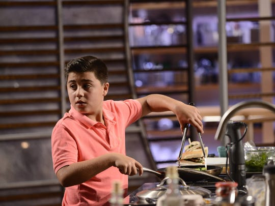 """Anthony Martino Jr. of Old Bridge and 39 other young chefs vie for the Top 24 in Season 6 of """"MasterChef Junior"""" at 8 p.m. Friday on Fox."""