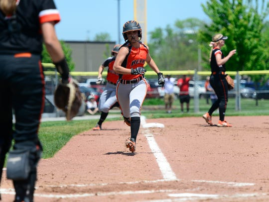 Gibsonburg's Mariana Alejandro scored two runs Wednesday.