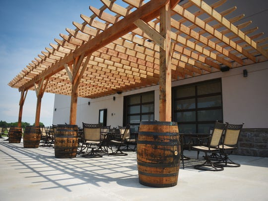 JJ's Wine, Spirit and Cigars outdoor patio at the new location at 3000 W. 57th St.