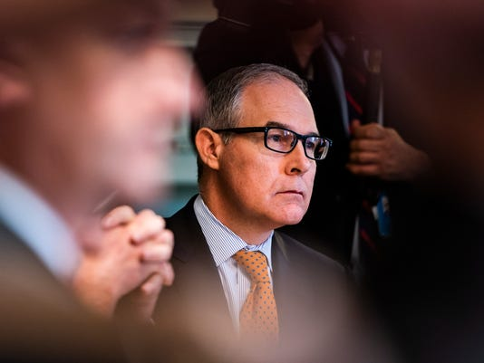 EPA (FILE) USA PRUITT RESIGNATION POL GOVERNMENT USA DC
