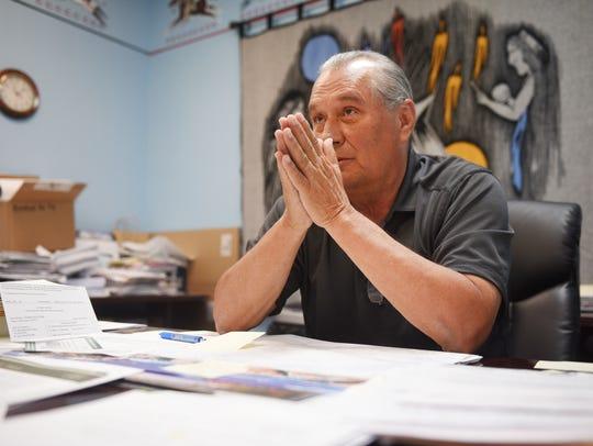 Wayne Boyd, Rosebud Sioux Treasurer, talks about Indian