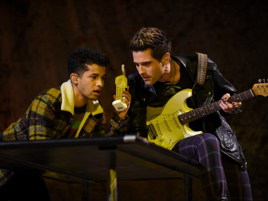 Jordan Fisher and Brennin Hunt starred in the production