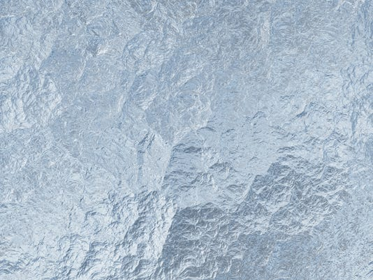 The texture of seamless ice as a winter background