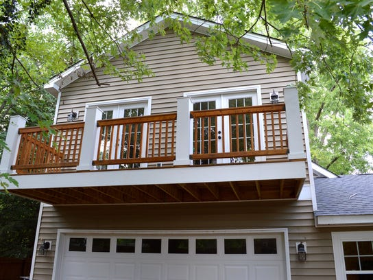 Guest rooms over the garage open onto a balcony..jpg