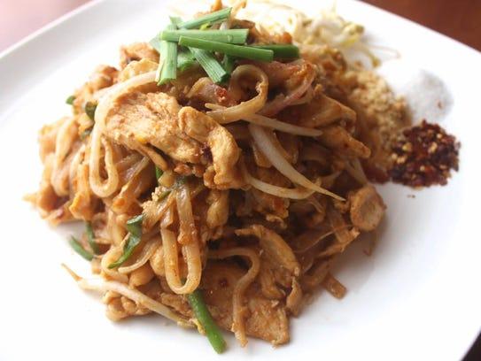 Pad Thai from Malila Thai Food Truck.