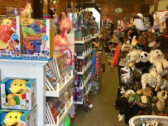 Funky Monkey Toys is located on N. Washington St. in