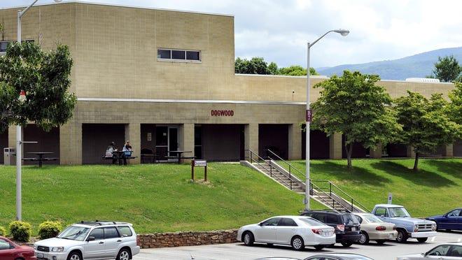 Asheville-Buncombe Technical Community College campus.