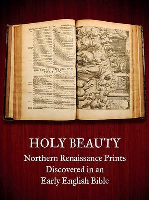 Visitors will be able to scroll through the 17th century Hexham Abbey Bible on display at the Hallie Ford Museum of Art, seeing its 110 prints via touch screens. The exhibition, which opens Feb. 10, also will include 35 16th century Dutch and Flemish prints of biblical stories and other themes of the period.