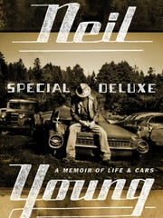 Cover of the book 'Special Deluxe: A Memoir of  Life and Cars' by Neil Young.