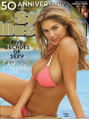 Kate Upton 50th anniversary Swimsuit Issue