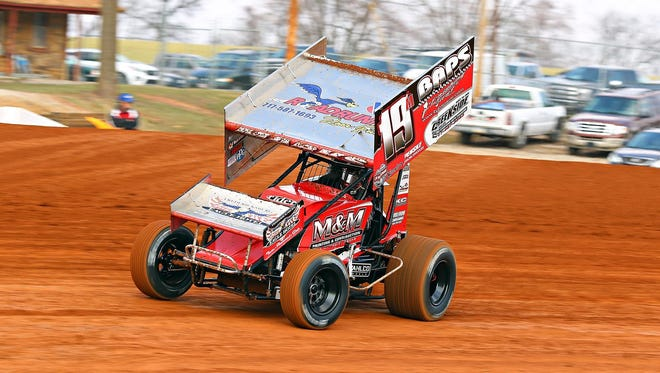 Jonestown's Brent Marks won the 410 Sprint car race at Port Royal on Saturday for his fourth win in his last six races at the track.