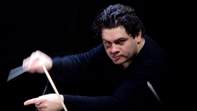 Violinist Cristian Macelaru came to the Interlochen Arts Academy near Traverse City as a teenager in 1997.