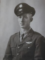 Pensacola resident Bill Gahlenbeck as a young man in