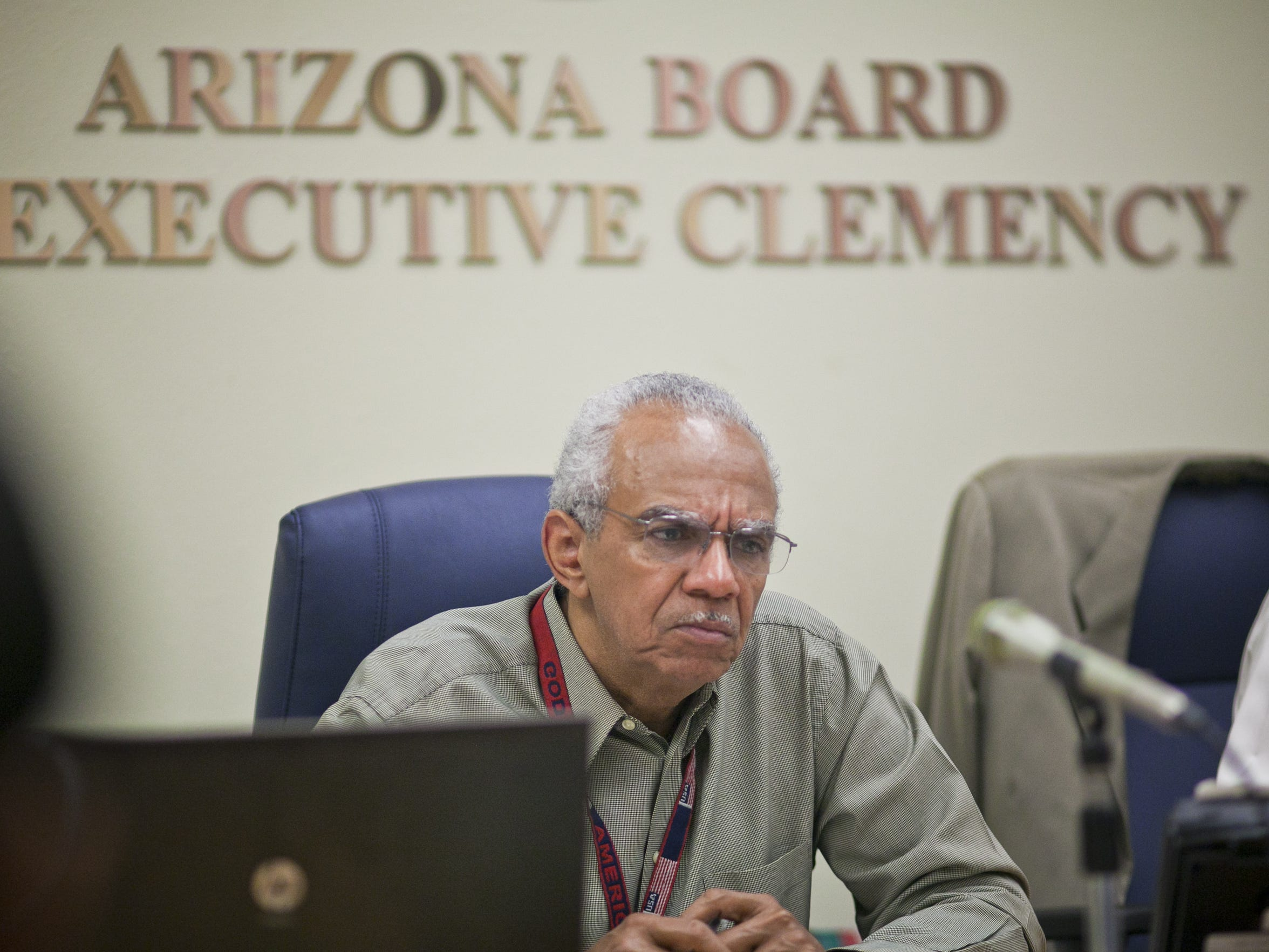 Duane Belcher, chairman of the Arizona Board of Executive