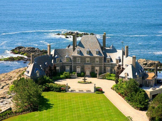 Got 19m how about a jaw dropping historical seaside estate for Rhode island bath house