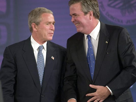EPA FILE USA POLITICS JEB BUSH POL ELECTIONS USA FL