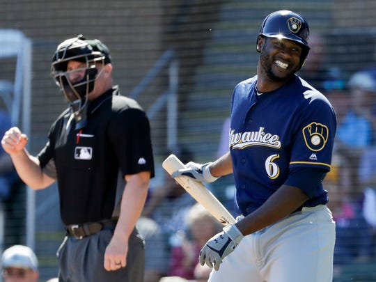 Lorenzo Cain was in the MVP conversation and was a standout defensive player for the Brewers last season.