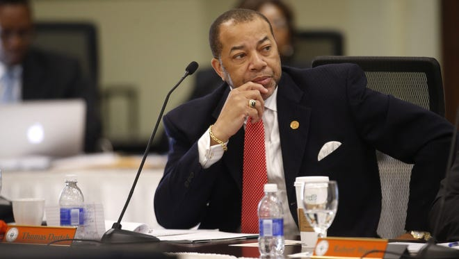 FAMU Trustee Thomas Dortch chairs trustee committee reviewing university's plan for the presidency.