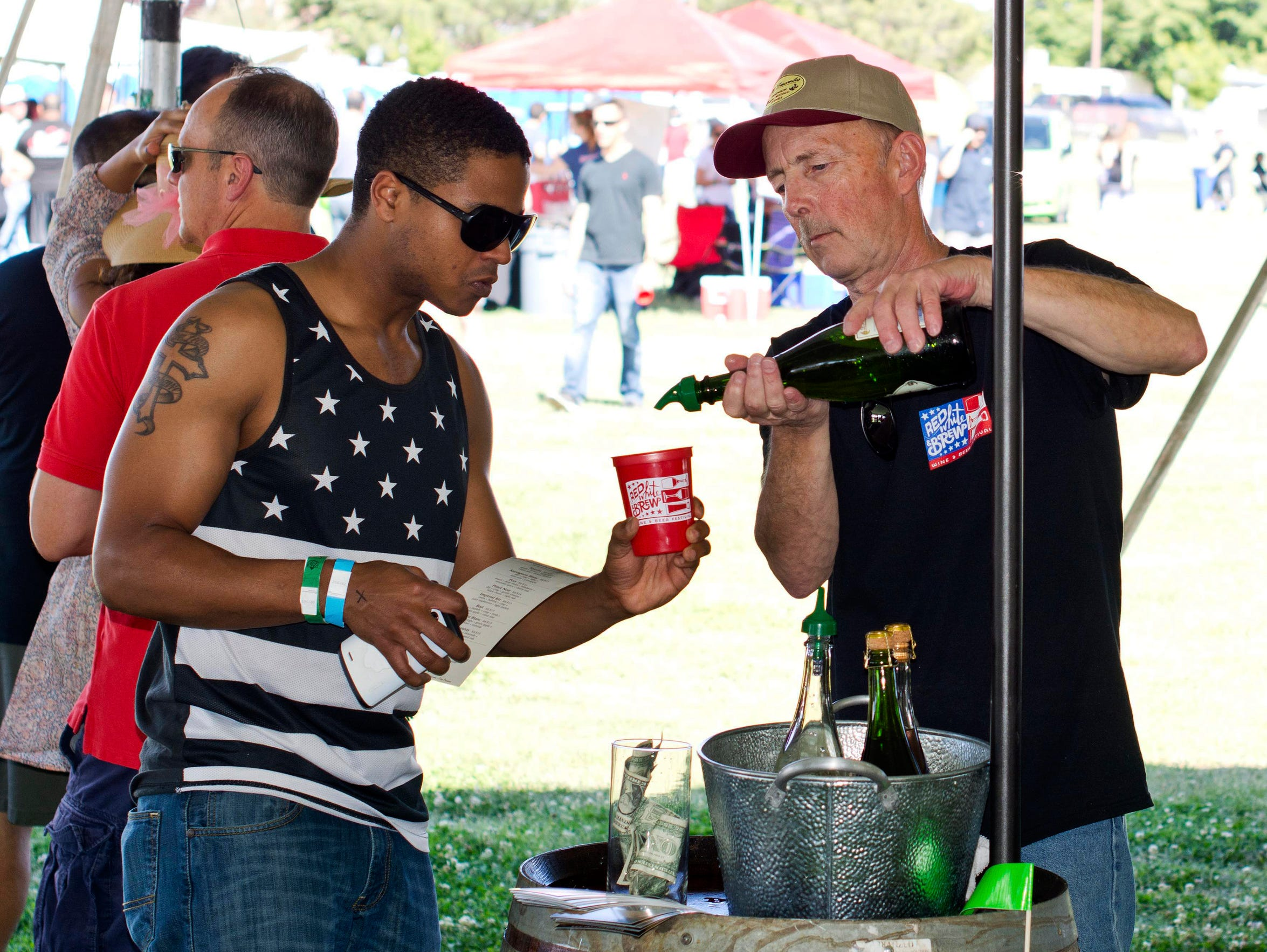 The 2017 Red, White & Brew Beer and Wine Fest is taking