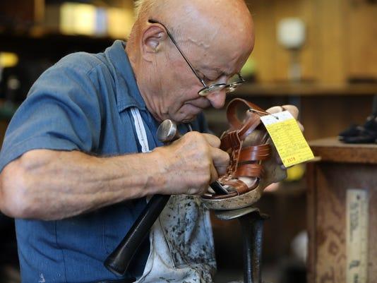 Ossining shoe repairman