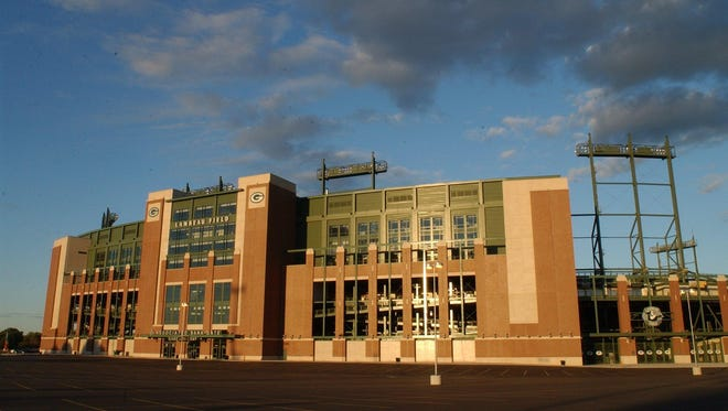 Lambeau Field's 2003 renovation was funded by a 0.5 percent sales tax in Brown County.