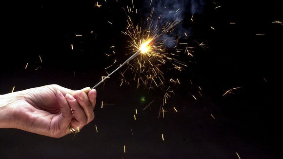 New York allows the sale of sparklers from June 1 to July 5 and Dec. 26 to Jan. 1 each year, but only if counties opt in.