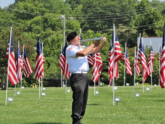 Field of Flags at Triangle Park