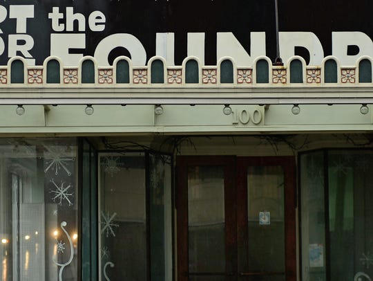 The Foundry is located at the corner of Queen and South