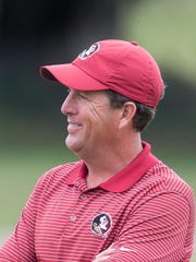 Trey Jones, whose Seminoles are ranked No. 1 in the country, is the ACC's coach of the year, the league announced Monday.